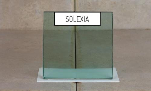 Browns Glass Shop Pattern Glass Shower Enclosure Cabinet Door - Solexia
