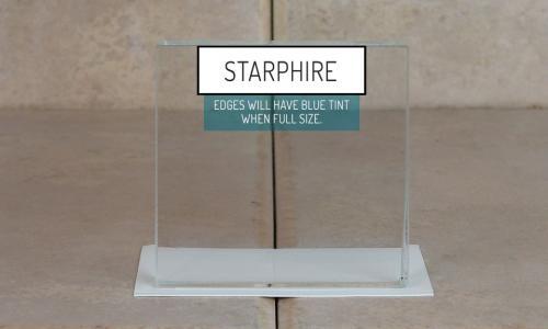 Browns Glass Shop Pattern Glass Shower Enclosure Cabinet Door - Starphire